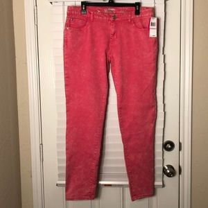 Celebrity Pink Jeans Pink 'Stone Washed' style